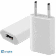 USB-oplader Stopcontact Voedingsadapter 5V / 1A voor APPLE iPhone / iPad