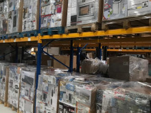 1.20m mixed pallets of household appliances, A / B / C, returned goods